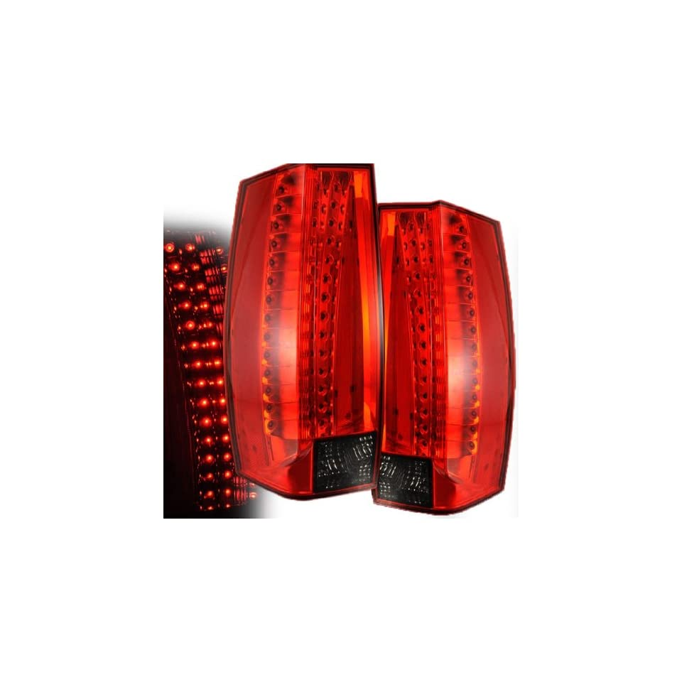 CHEVY TAHOE/ SUBURBAN/YUKON/YUKON XL 07 10 LED G5 TAIL LIGHT RED/SMOKE NEW