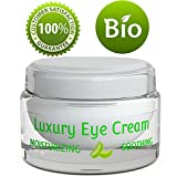 best eye cream for sensitive skin - Pure and Natural Eye Cream for Sensitive Skin – Reduces Wrinkles, Puffiness, Lines and Dark Circles – Hypoallergenic Formula for Men & Women