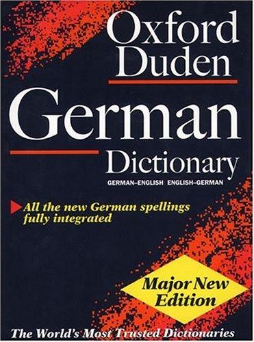 Oxford Duden German Dictionary, German-English/English-German