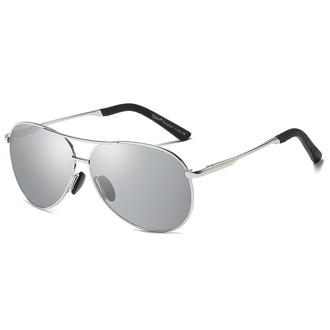 molto carino b5783 4a686 Cyxus Occhiali da sole Uomo Polarizzati Uomo Occhiali da sole Polarizzati  UV400 Protection, Unisex (Uomo/Donna)