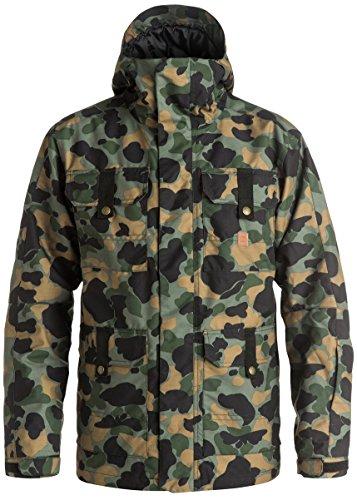 DC Men's Servo Jacket, Camouflage Lodge Men, X-Large