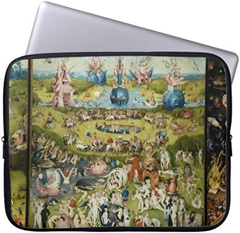 piaLine Llevar Pantalla Caso Bolsa Hieronymus Bosch el jardín de Las delicias Computer Sleeve 15