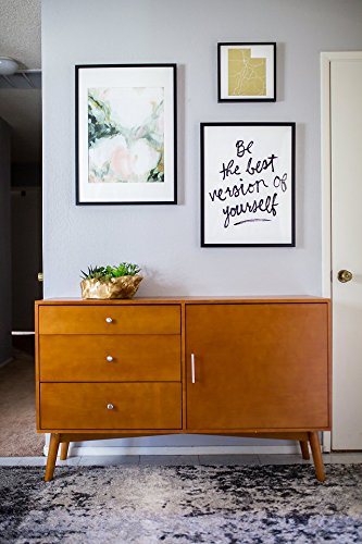 New Mid Century Modern Television Console-Acorn Finish