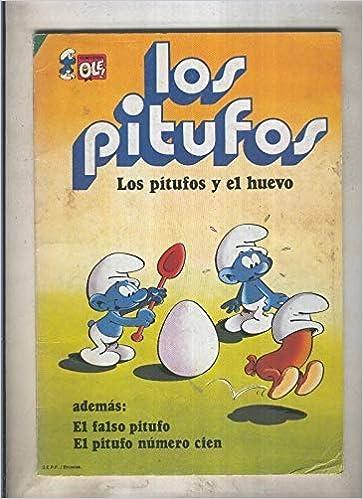 Amazon.com: Los Pitufos Coleccion Ole numero 05: Los pitufos ...