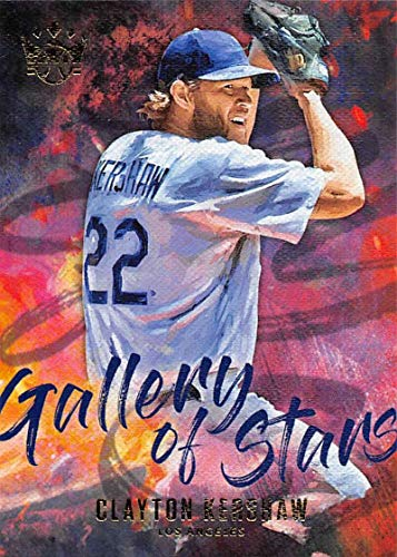 Baseball MLB 2019 Panini Diamond Kings Gallery of Stars #14 Clayton Kershaw #14 NM Near Mint Dodgers