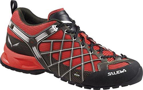 SALEWA MS WILDFIRE VENT - botas de senderismo de material sintético hombre Rojo / Verde   (Flame / Basilico 1504)