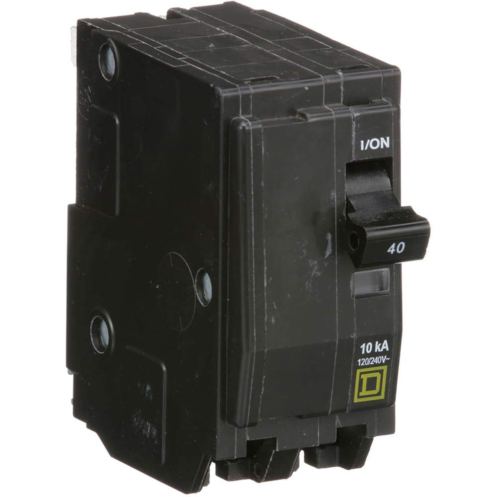 Miniature Circuit Breaker; 2 Pole; 120/240V; 40A, Pack of 2