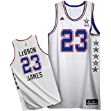Lebron James #23 Eastern Conference Adidas 2015 White Youth All Star Swingman Jersey