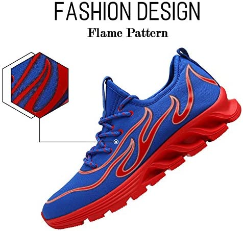Men s Fashion Sneaker Breathable Walking Casual Tennis Athletic Running Shoes