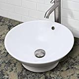 DECOLAV-1435-CWH-Celena-Classically-Redefined-Round-Vitreous-China-Above-Counter-Vessel-Sink-with-Overflow-White