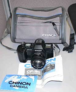Chinon CP-7m 35MM SLR Film Camera with Lens.