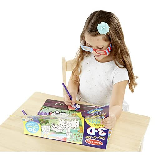 hot sale 2017 Melissa & Doug Easy-to-See 3-D Kids\' Coloring Pad ...
