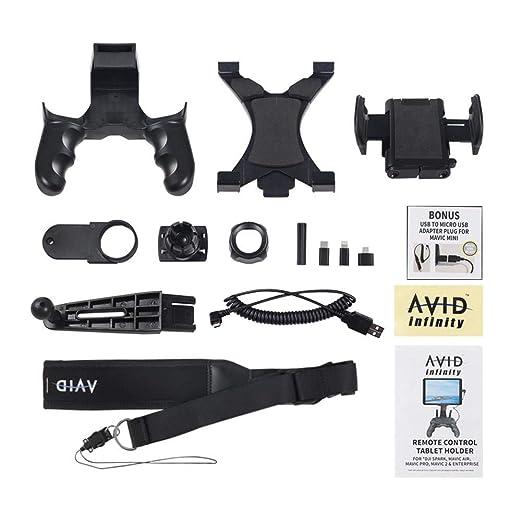 runnerequipment Soporte para Controlador de Drone Clip de Montaje ...