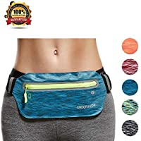 UNIQFAVOR Running Belt Fanny Waist Pack Phone Holder...