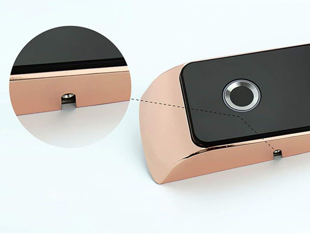 Abcidubxc Elektronisches Smart T/ürschloss Biometrisches Keyless Lock,Passwort,Fingerabdruck-Touch-Code,Hardware T/ürschloss Zubeh/ör