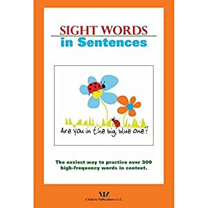 Harebrain Sight Words in Sentences Learning Aid