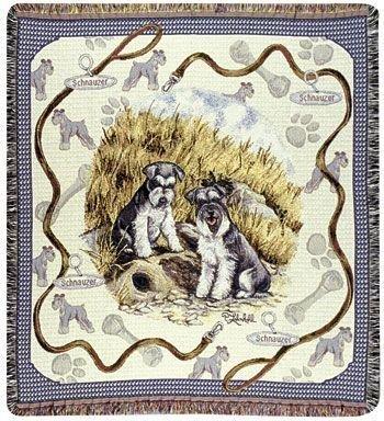 Schnauzer Tapestry - 1