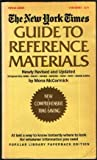 The New York Times Guide to Reference Materials, Mona McCormick, 0445081961