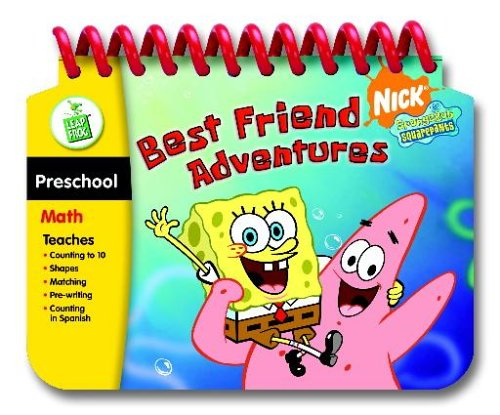 - LeapFrog My First LeapPad Educational Book: SpongeBob SquarePants Best Friend Adventures