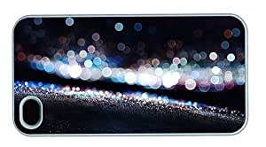 Hipster discount iPhone 4S cover sparkling city lights PC White for Apple iPhone 4/4S