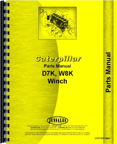 Read Online Caterpillar Hyster Winch Crawler Parts Manual pdf