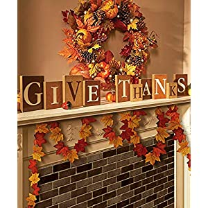 MerryNine 600 Assorted Mixed Deep Fall Colored Artificial Maple Leaves for Weddings, Thanks-Giving, Events and Outdoor Maple Leaf Cafe Decoration 3