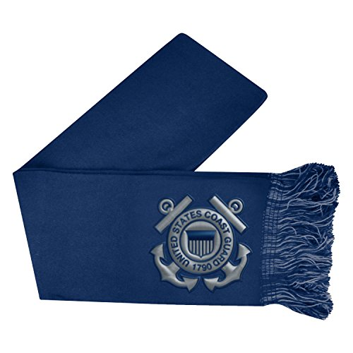 Top of the World Coast Guard Official MIL Scarf Team Logo Woven 318639 by Top of the World