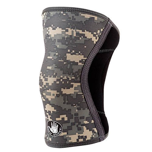 Body Glove 3mm Neoprene Compression Knee Sleeve (Black Camo, Medium) ()