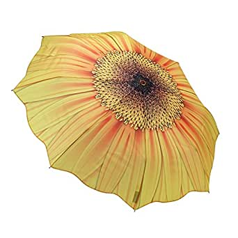 Galleria Sunflower Bloom Folding Umbrella - Sunflower Bloom