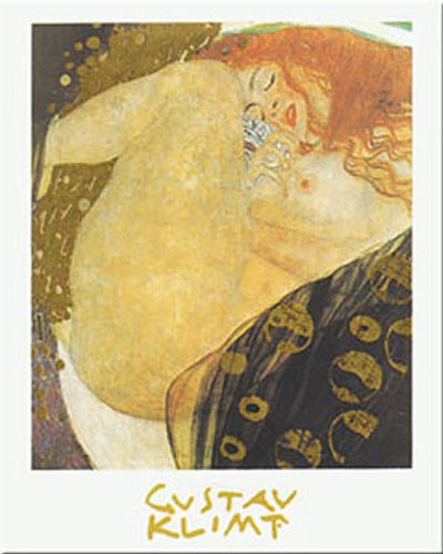 Buyartforless Danae by Gustav Klimt 20x16 Art Print Poster