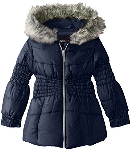 LiMiTeD Too Girls Too Puffer W/Novelty Smocking Detail