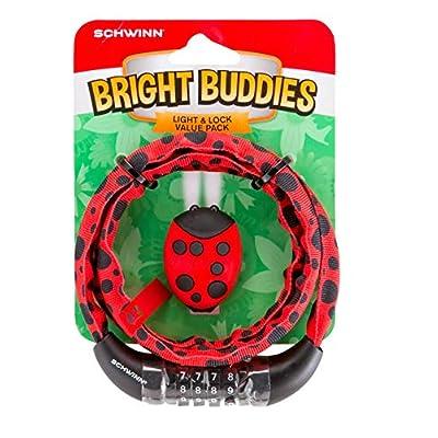 SCHW Ladybug Light & Lock Value Pack : Sports & Outdoors