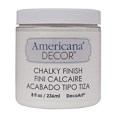 DecoArt ADC-01 Americana Chalky Finish Paint, 8-Ounce, Everl