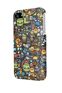 ip40059 Cute cartoon Glossy Case Cover For Iphone 4/4S by Maris's Diary