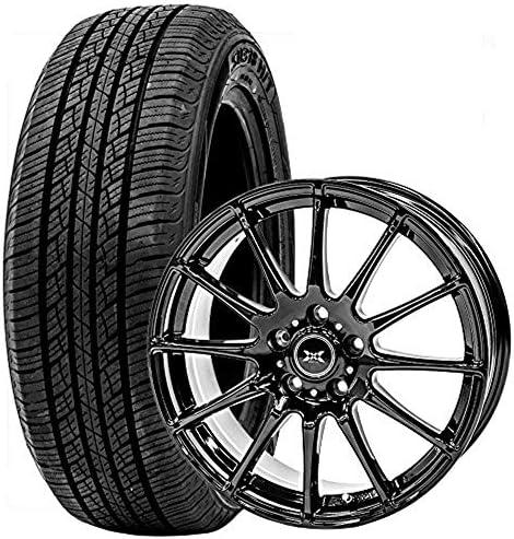 GOODRIDE (グッドライド) サマータイヤ ホイールセット 225/65R17 SU318 + 17×7.0J +38 5/114.3 ブラック 4本セット 2020年製