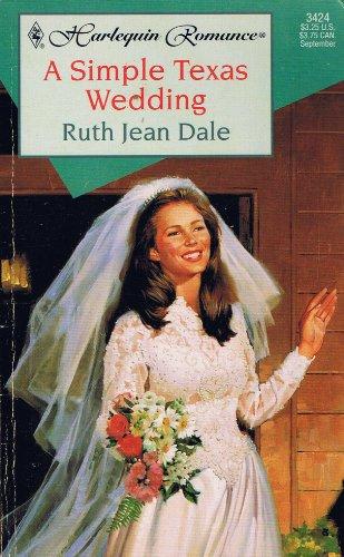 book cover of A Simple Texas Wedding