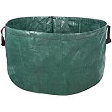 Holfcitylf 63 Gallons Pop-Up Garden Garden Waste Bags Container Spring Buckets Collapsible Durable Reusable for Lawn and Leaf