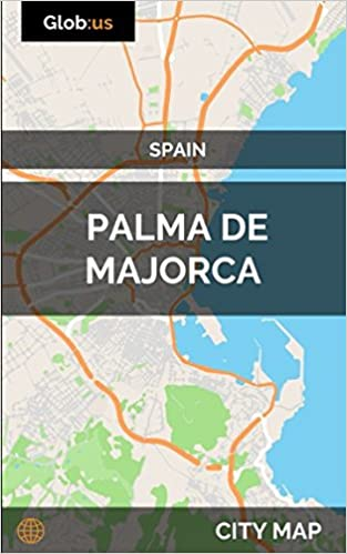 Map Of Spain Majorca.Palma De Majorca Spain City Map Amazon Co Uk Jason Patrick