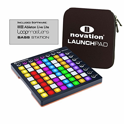 Vst Host Plug In - Novation Launchpad S MK2 64-Button Music Controller, Ableton Live and Launchpad Sleeve Soft Carry Bag Bundle