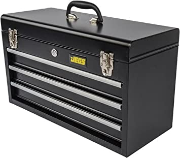 Sealey Ap9243bbhv Tool Chest 3 Drawer Portable With Ball Bearing Runners Hi Vis Green