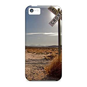 Forever Collectibles Railroad Crossing Hard Snap-on Iphone 5c Case