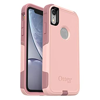 Otter Box Commuter Series Case For I Phone Xr   Retail Packaging   Ballet Way (Pink Salt/Blush) by Otter Box