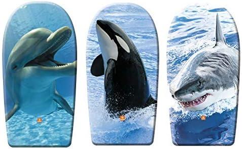 Mondo–Planche de Surf Body Board, Motifs Animaux Marins, 84cm, Couleurs Assorties (11002)