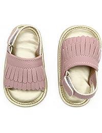 Baby Sandal Tassels Summer Lace-up Toddler Gladiator Shoes 0 6 12 18 Months