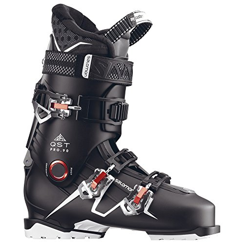 (Salomon QST Pro 90 Ski Boots Men's Black/Anthracite/Red 29.5)