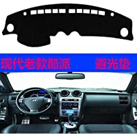 for Hyundai Tiburon Coupe Tuscani 2002 2003 2004 2005 2006 2007 2008 dashmats car-Styling Accessories Dashboard Cover