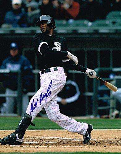 Alexei Ramirez Signed Photo - 11X14 COA - Autographed MLB Photos