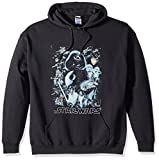 Star Wars Unisex-Adults Men's Galaxy of Graphic T-Shirt, Black//Hoodie, XX-Large