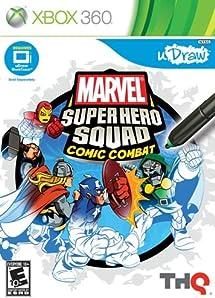 Amazon Com Udraw Marvel Super Hero Squad Comic Combat Xbox 360