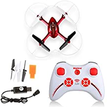 Syma X11C 4 Channel 6 Axis 2.4G RC Remote Control Quadcopter With HD Camera 200W Pixels Gyro / Flash Lights 360-degree 3D Helicopter Airplane Quad Copter Plane Aircraft Model Toys Red